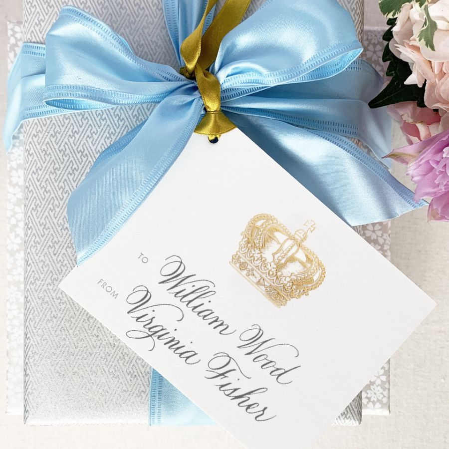 Crown Gift Tag