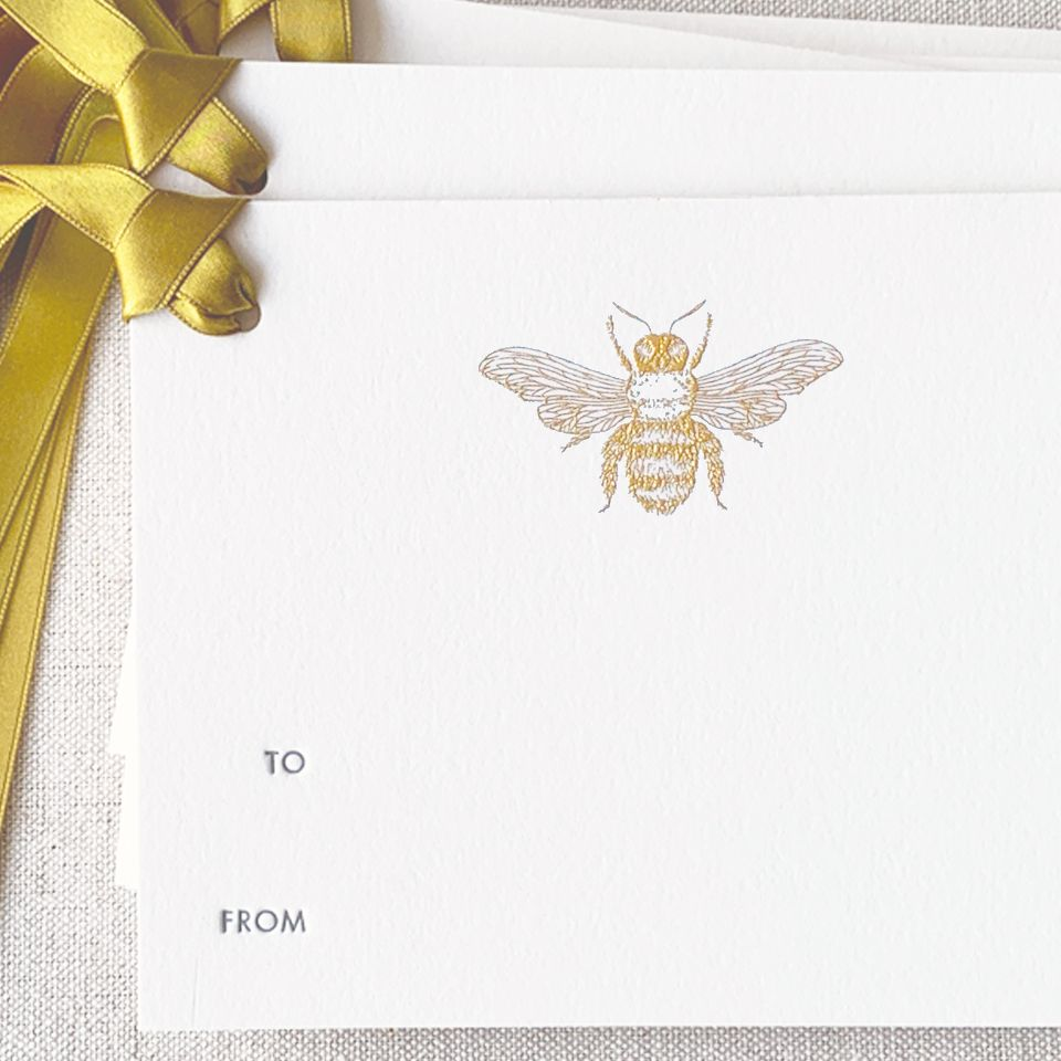 Buzz Gift Tag