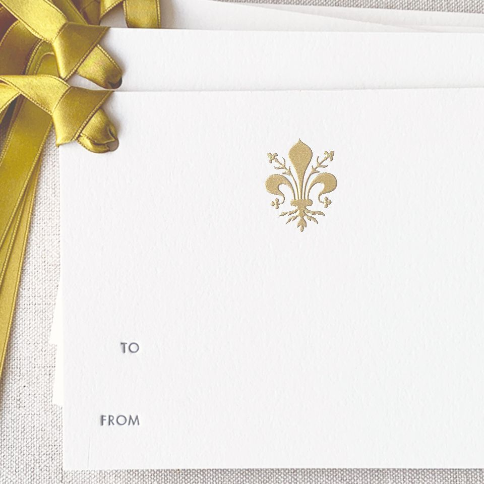 The Florentine Gift Tag