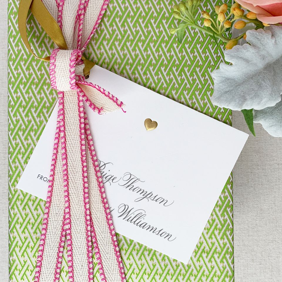 Love Puff Gift Tag