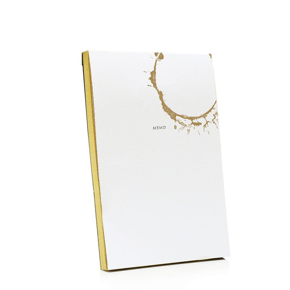 Gold Ring Jotter