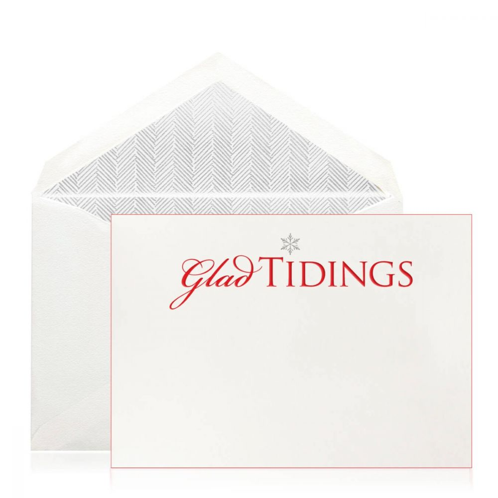 Glad Tidings Holiday Cards