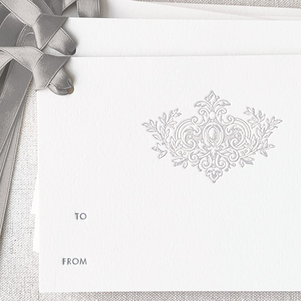 Silver Crest Gift Tag
