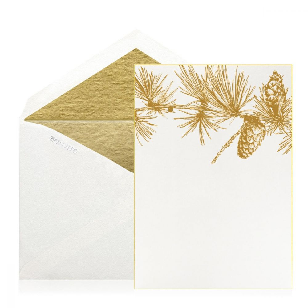 Boxed Gold Pine