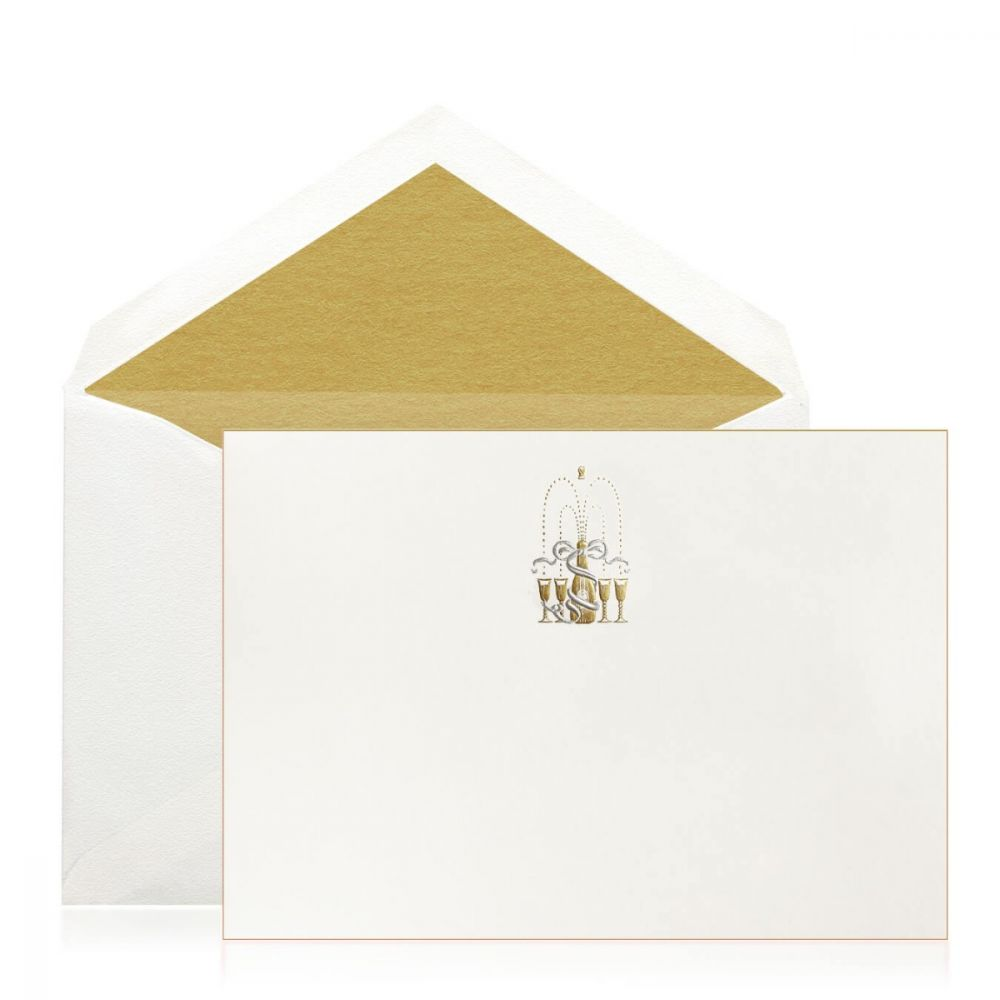Boxed Silver + Gold Cork Pop