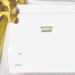 Small Crown Gift Tag