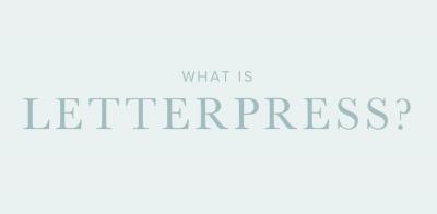 What is Letterpress?