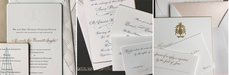 beautiful custom wedding invitations