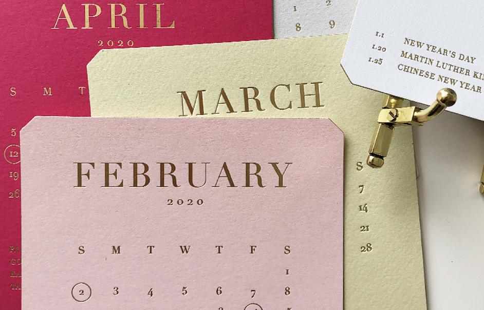 desk calendar sale